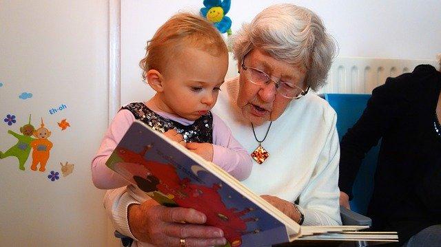 babička a vnouče