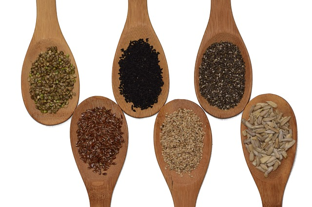 semínka na vařečkách